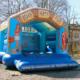 Hüpfburg im Strandlook für Party zum Ausleihen in Rosenheim